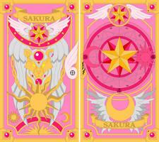 Sakura Book Covers Sealed by Earthstar01