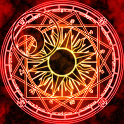 Clow Reed's Magic Circle by Earthstar01