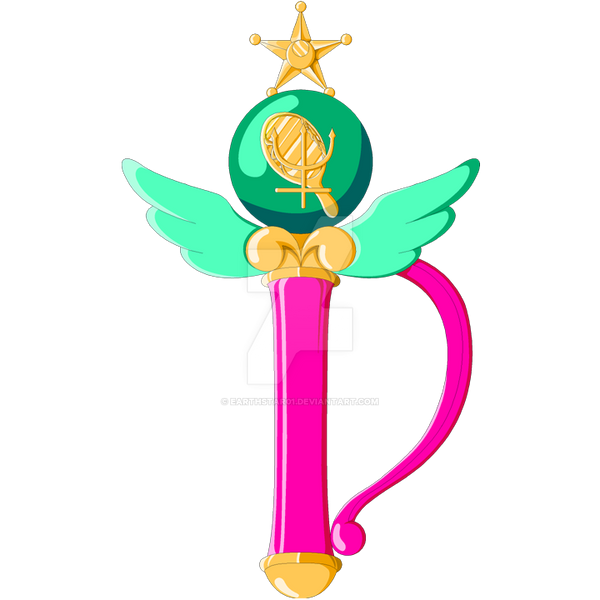 Sailor Neptune Crystal Change Rod By Earthstar01 On Deviantart