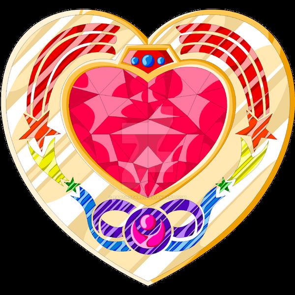 Cosmic Heart Compact Open by Earthstar01