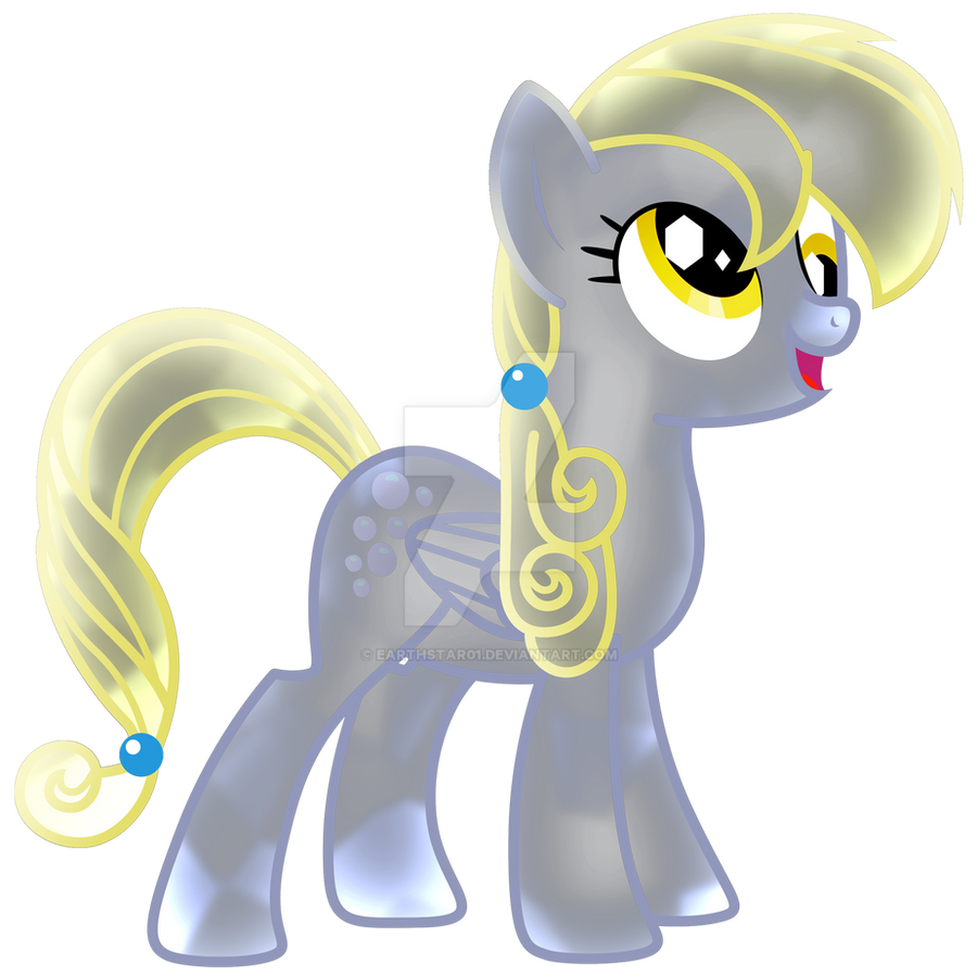 Crystal Pony - Derpy by Earthstar01