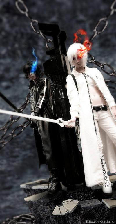 Black Rock Shooter: BRS x WRS by RaikouCos