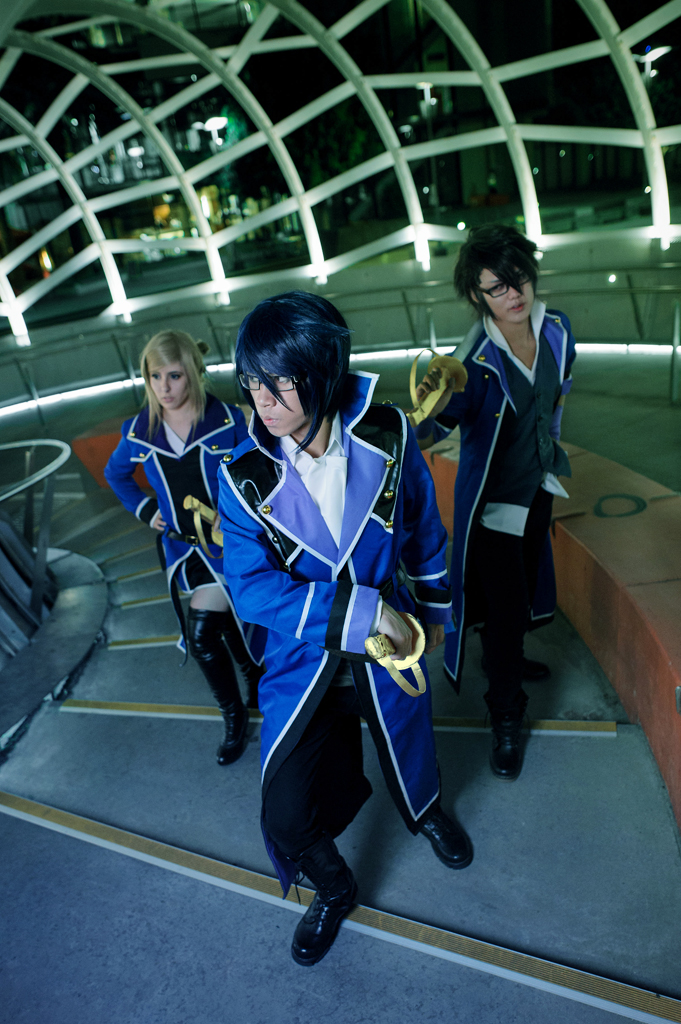 K  Project - Blue Clan by  K Project Blue King Cosplay