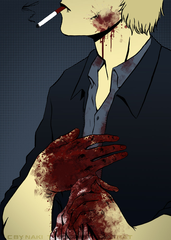 Bloody Hands by Nakimon