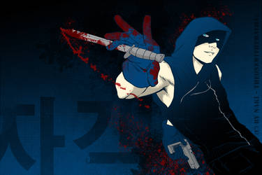 Blue Hood, Red Hands by Nakimon