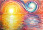 Swirl Sunset