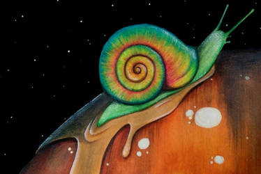 Snail Thoughts by eyleeuhn