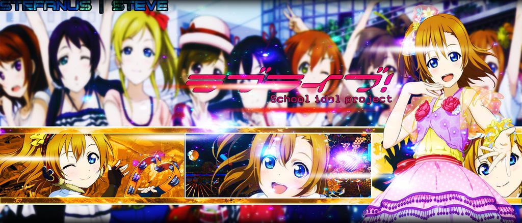 Love Live Kousaka Honoka HD Wallpaper By StefanusDesign