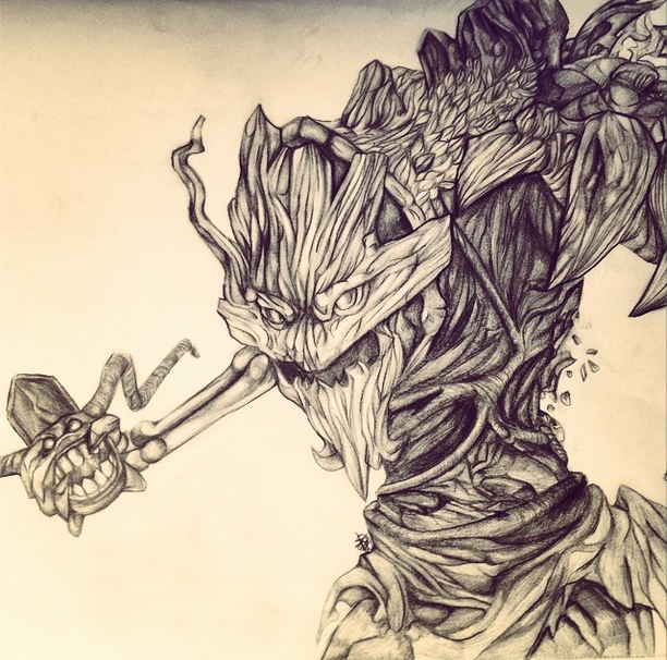 Maokai Sketch League Of Legends By 78 Days Above Water On Deviantart Learn through online drawing classes and one on one mentorships with mike mattesi, author of the force drawing books! maokai sketch league of legends by 78