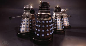'The Dalek Invasion of Earth' different ranks