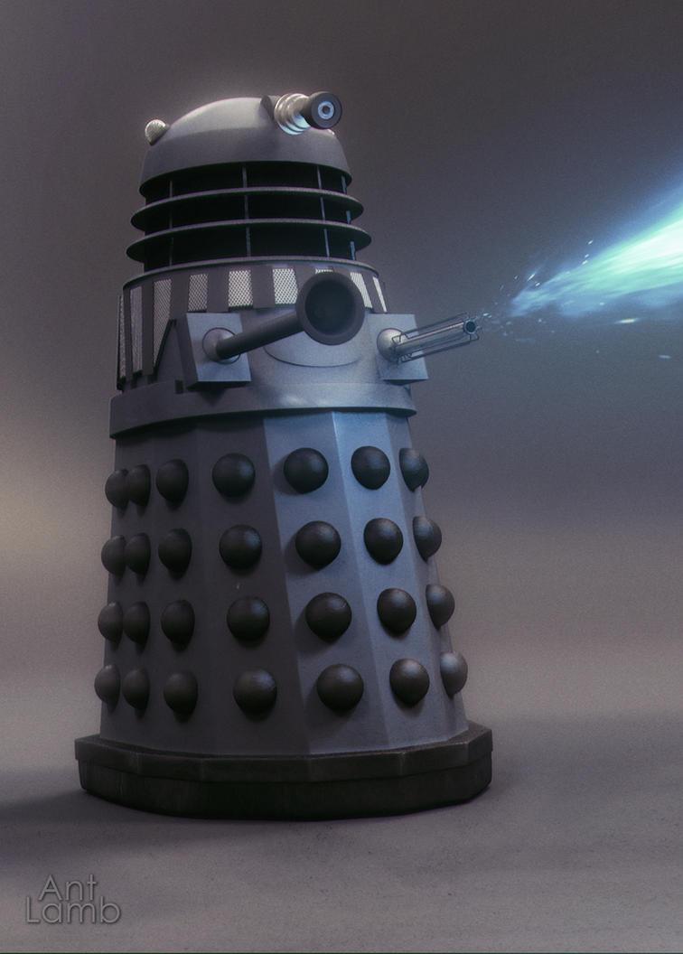 Renegade Dalek by AntLamb