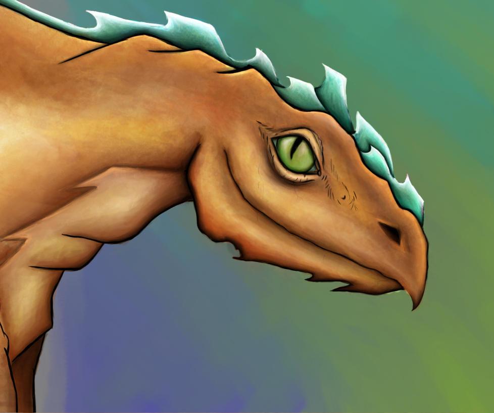 Dragon by Patatje36