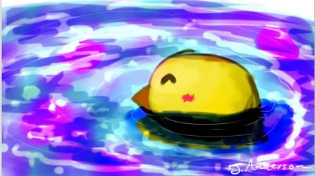 Chickie - Digital Art by BlueStylArt