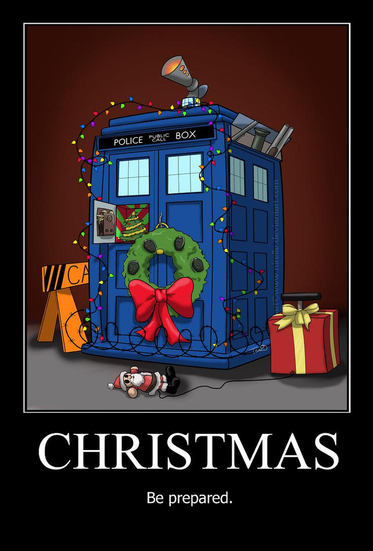 Christmas in the Tardis by nirelle