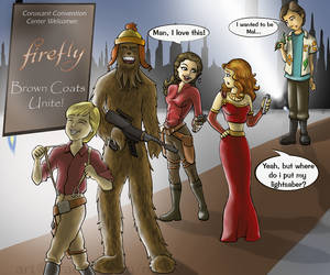 C3: Coruscant's Firefly Fans by nirelle