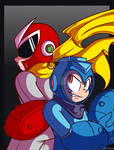 ProtoMan vs Copy Robot