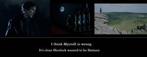 sherlock is batman by hpwolffreak
