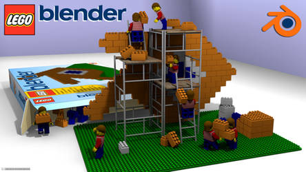 Lego Blender by RamaelK