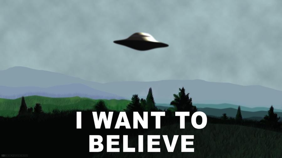 X-Files - I Want To Believe by RamaelK