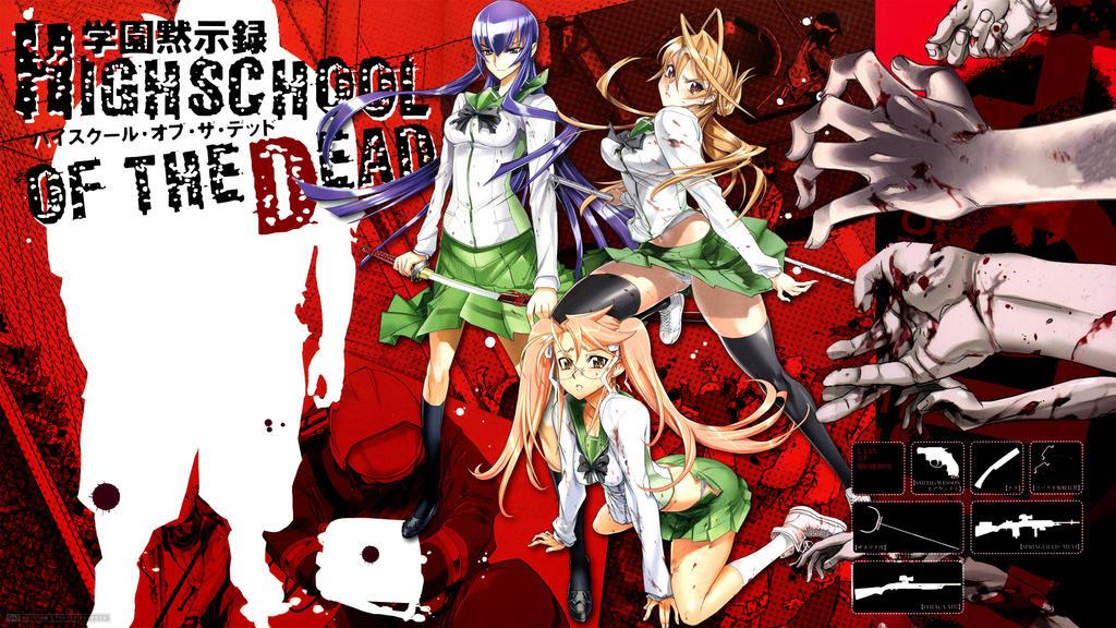 Highschool of the Dead 1 by RamaelK