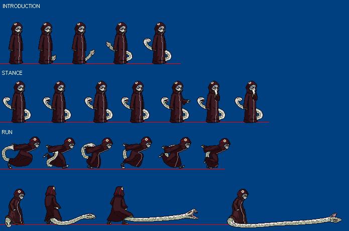 kabuto yakushi-snake cloak
