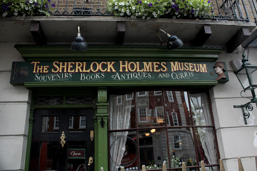 The Sherlock Holmes Museum by Misspoint