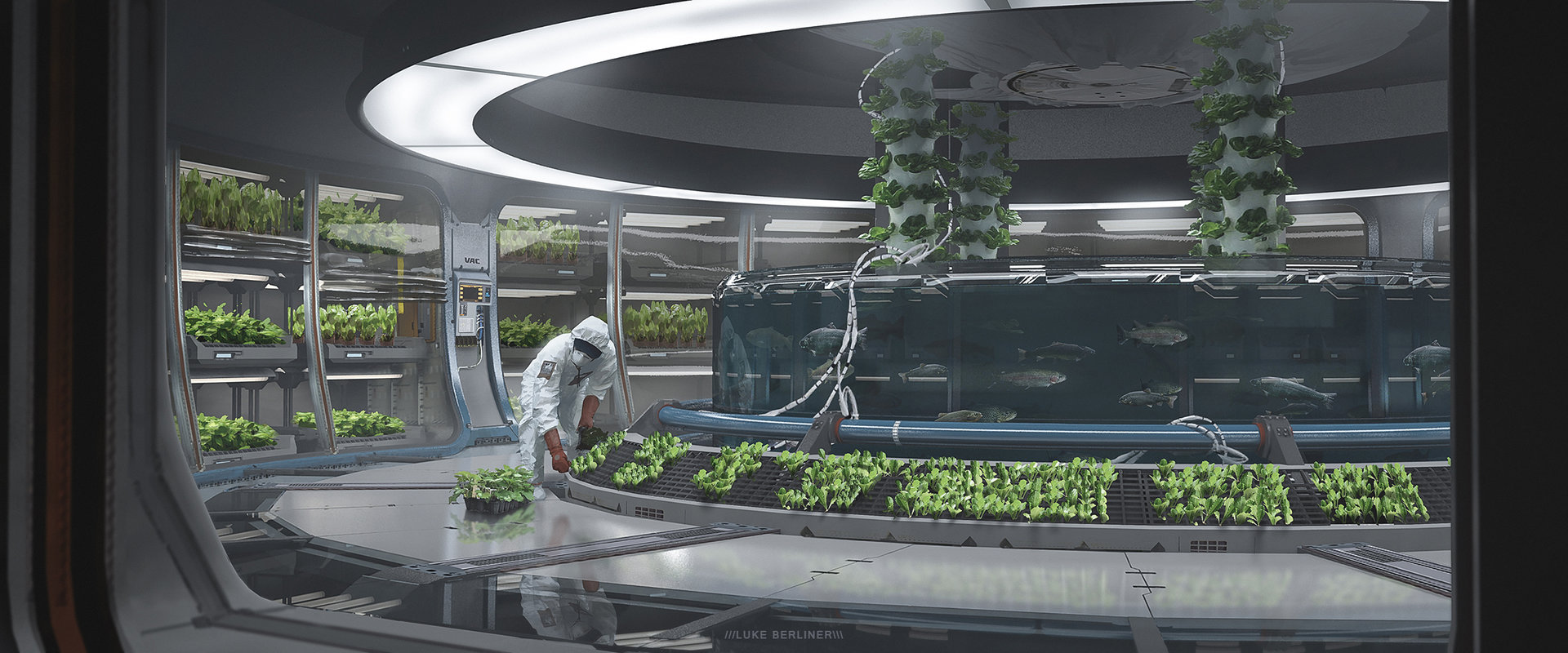 greenhouse space station - photo #7