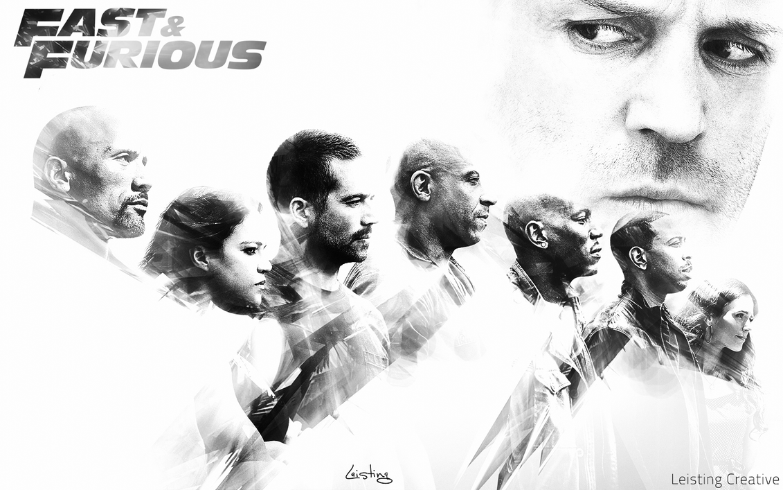 Fast And Furious 7 Wallpaper: Fast And Furious 7 Wallpaper By LeistingCREATIVE On DeviantArt