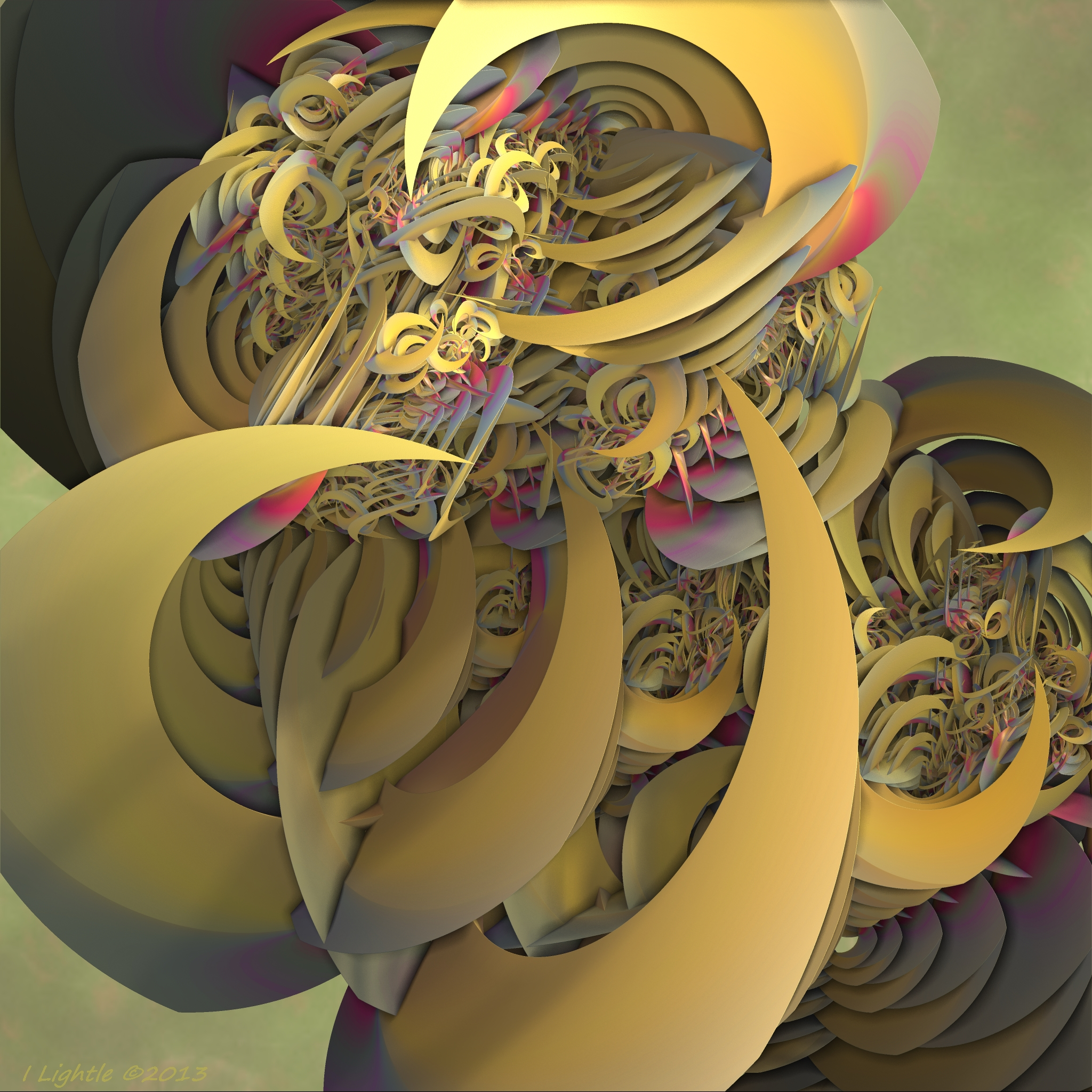 Banana Twist by GraphicLia