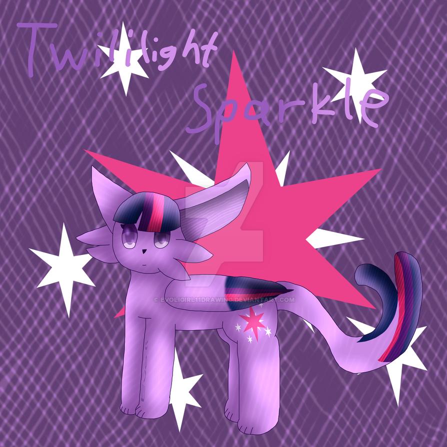 Twilight as an Pokemon by EvoliGirl11Drawing