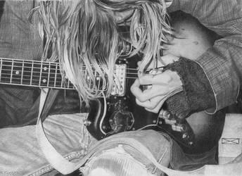 Kurt Cobain by kjyBkuz