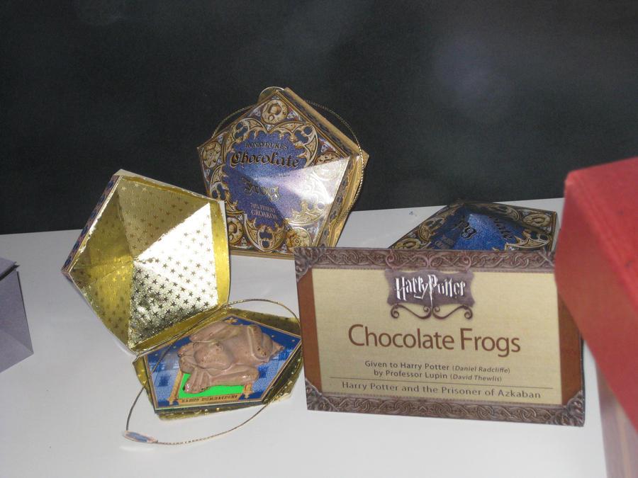 Шоколадная лягушка из гарри поттера своими руками 33