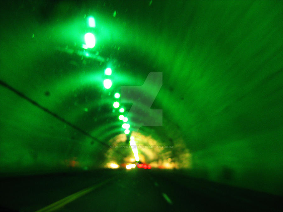 Blade Runner Tunnel by ShipperTrish