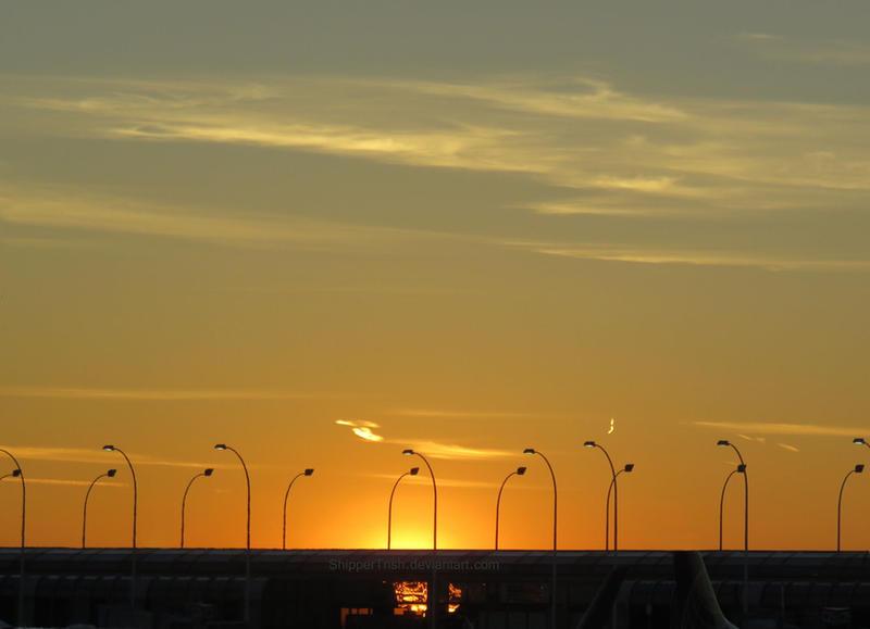 Golden Sunset by ShipperTrish