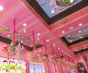 Colorful Ice Cream Shop by ShipperTrish