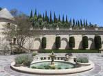 Mansion Courtyard Fountain