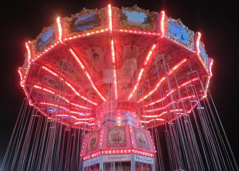 Swing Ride at Night