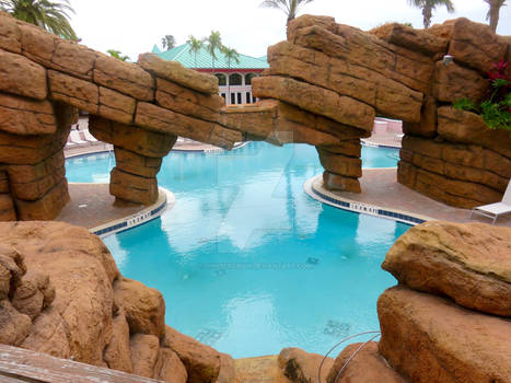 Rocky Swimming Pool