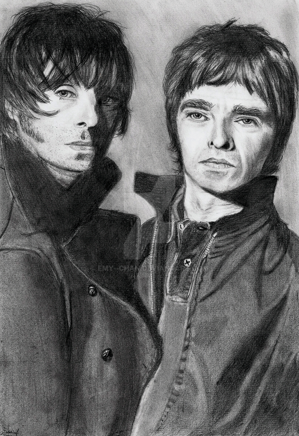 Gallagher brothers by Emy--chan