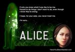 Meet Alice...