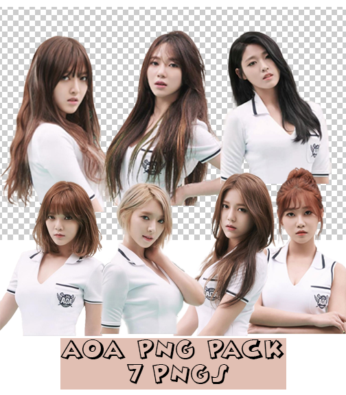 AOA Heart Attack Teaser PNG Pack by wicker88