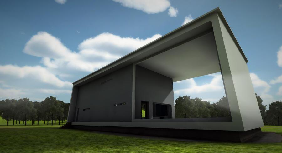 Minimal architecture by victorhugojuice on deviantart for Art minimal architecture