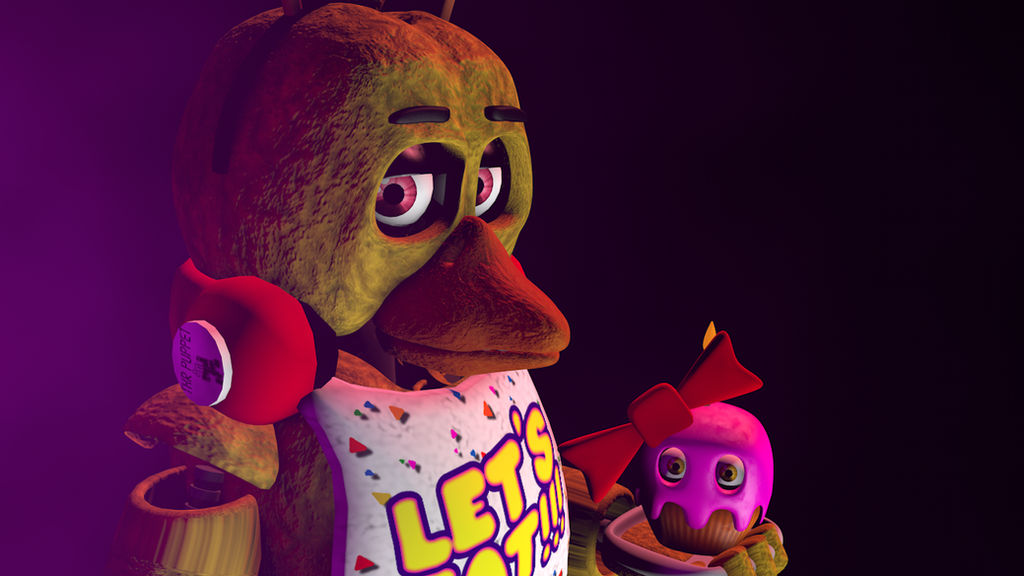 C4d Chica The Chicken Wallpaper Hd By 666thefoxgamer666 On