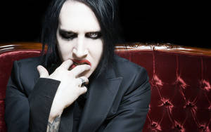 Marilyn-Manson-Wallpaper by brian502