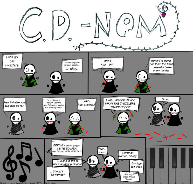 CD-NOM: Twizzlers by Firefolk