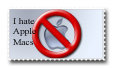 Stamp: I Hate Macs by PyroTeamkill