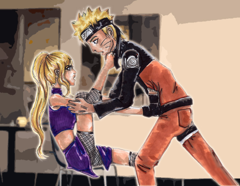 NaruIno Request: Misery by Labbess