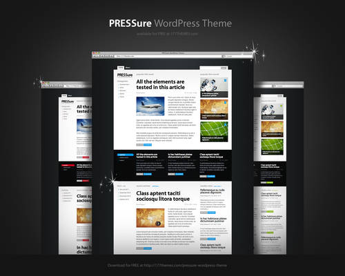 PRESSure WordPress Theme