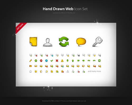 Hand Drawn Web FREE icon set