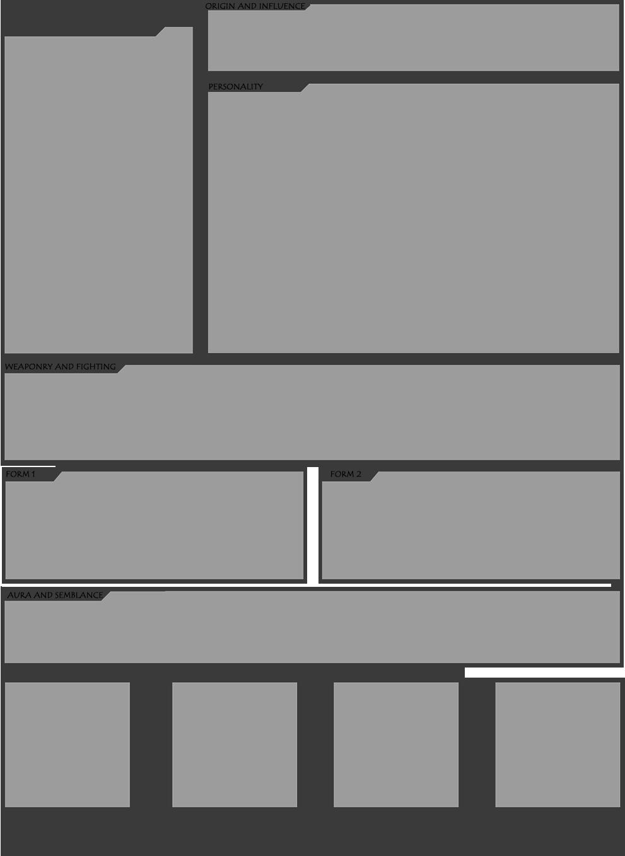 Character Design Template Deviantart : Rwby oc template by bushtuckapenguin on deviantart